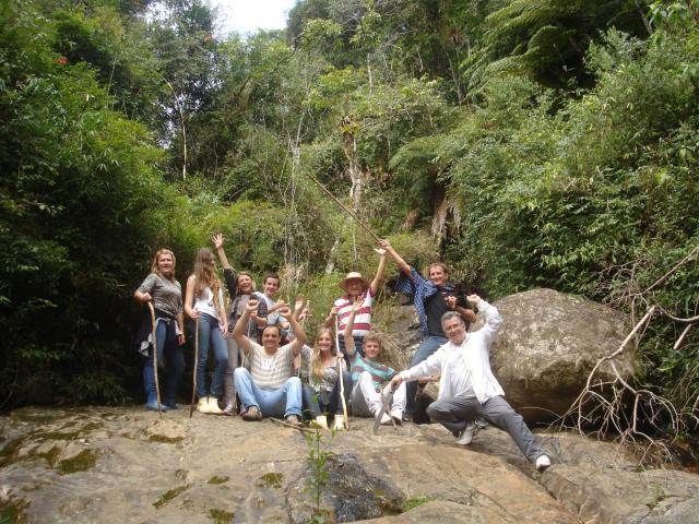 Lage de Pedra em meio a Floresta do Vale Encantado!